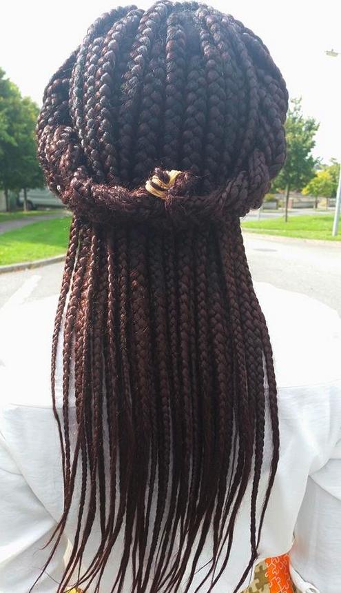 Ankara hair