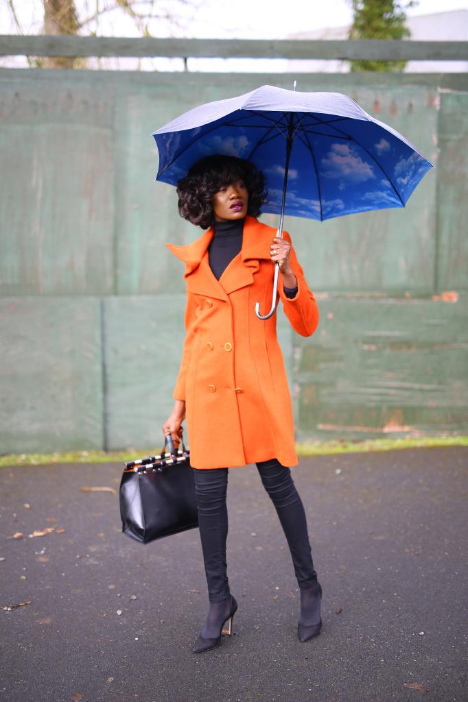 Mojintouch Burnt Orange Coat