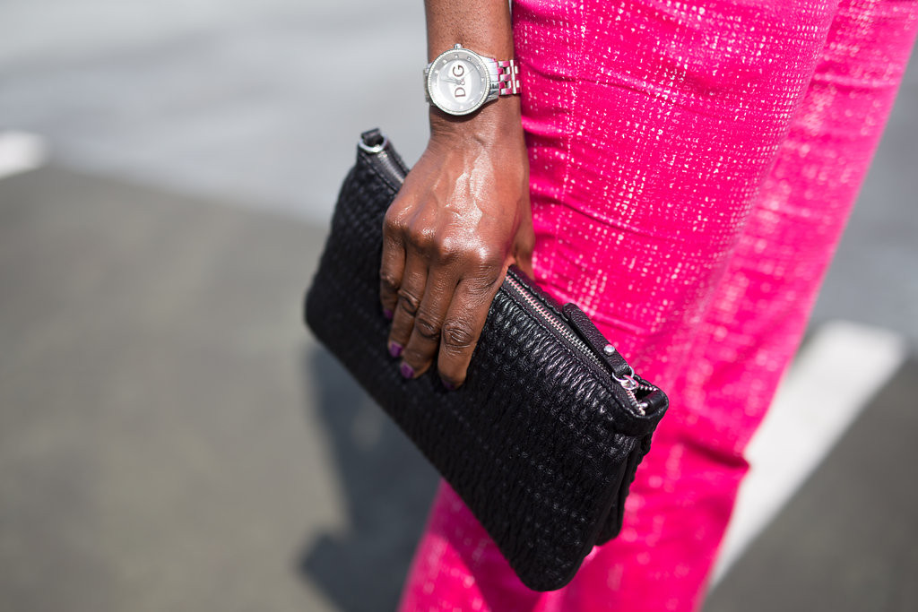 D&G QUILTED CLUTCH