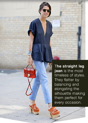 THE STRAIGHT LEG DENIM