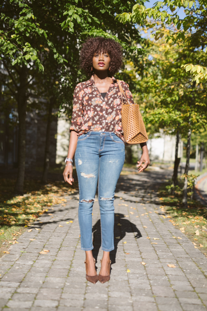 Floral_SIlk_shirt_and_ripped_denim
