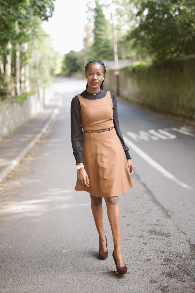 Black and Brown in work style