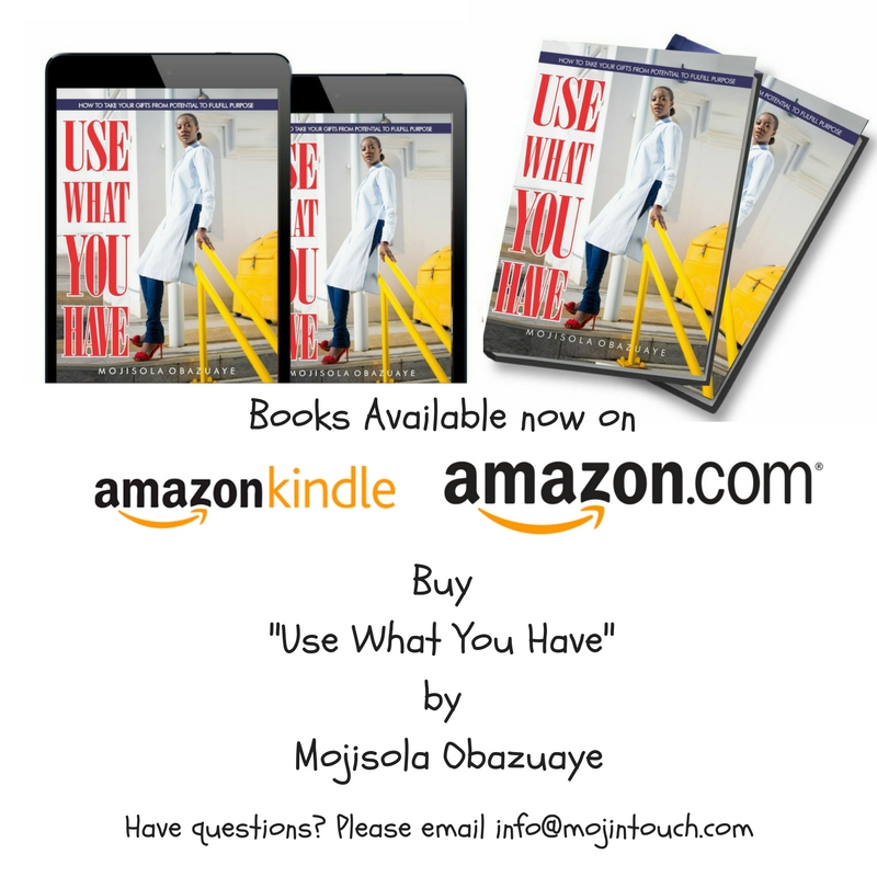 Use What You Have Book by Mojisola Obazuaye Image