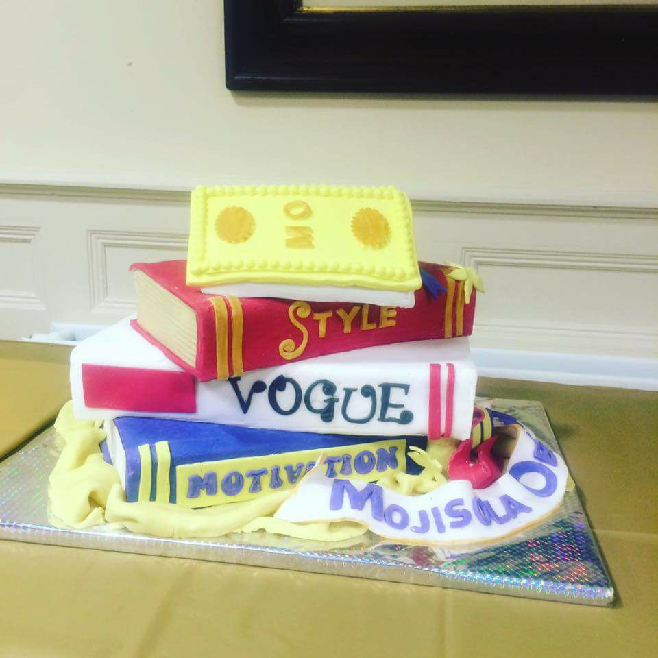 Cake at the book launch of Use What You Have by Mojisola Obazuaye Image