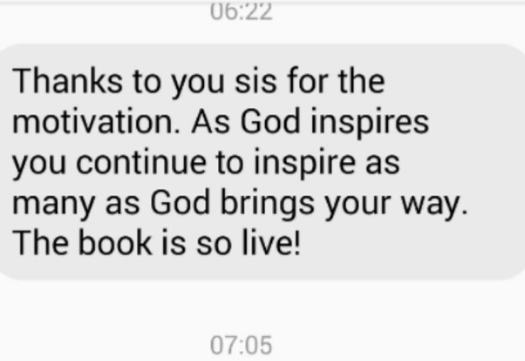 Testimonial for Use What You Have by Mojisola Obazuaye Image