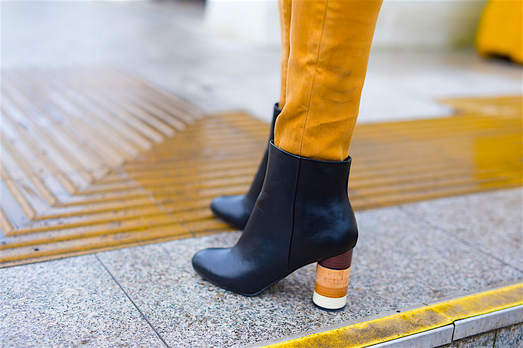 Ankle Boots with Wooden Heels Image