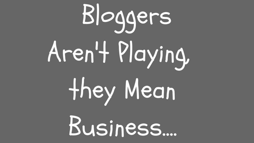 Bloggers Mean Business