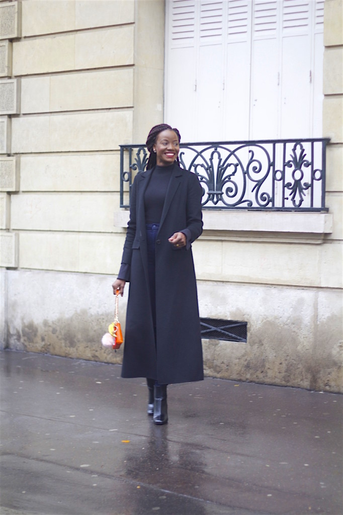 Wearing Blue On The Streets of Paris