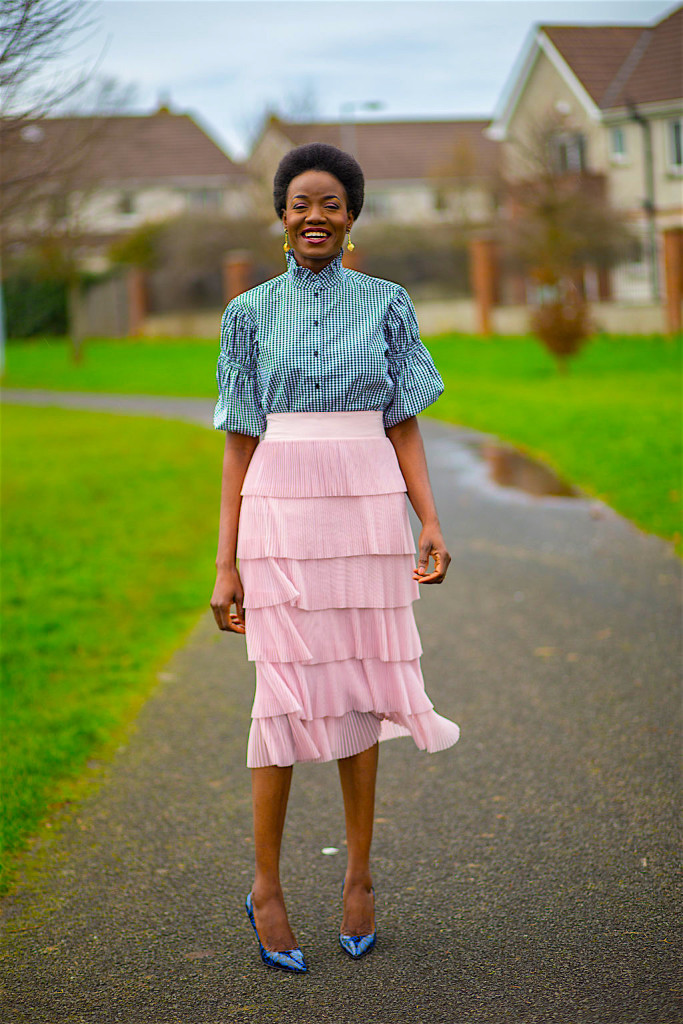 Romantic Cotton and Layered Skirt Image
