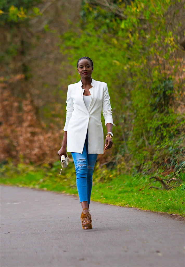 How to Style the Long Line Blazer Image